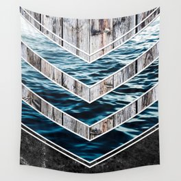 Striped Materials of Nature III Wall Tapestry