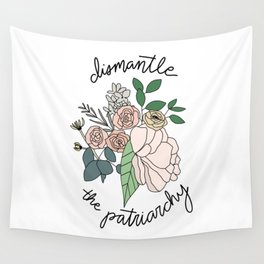 DISMANTLE THE PATRIARCHY Wall Tapestry