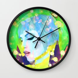 Digital Painting - Hayley Williams - Variation 2 Wall Clock