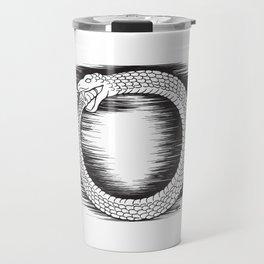 Ouroboros Revolutionary Symbol Travel Mug