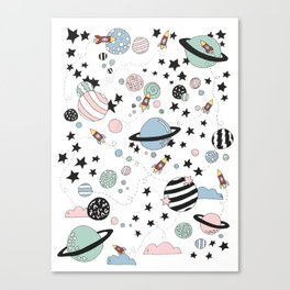 ROCKETS Canvas Print