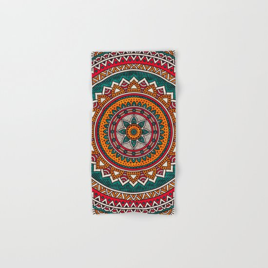 Hippie Mandala 9 Hand & Bath Towel