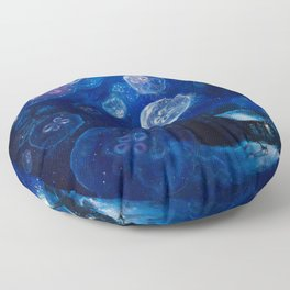 It's Jellyfishing Outside Tonight Floor Pillow