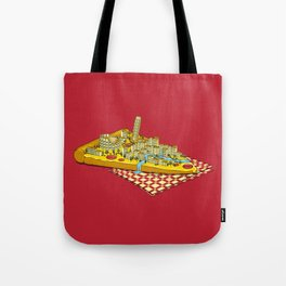 Hungry for Travels: Slice of Italy Tote Bag