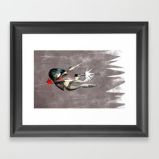 Shot Framed Art Print