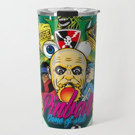 Pinball, Game of skill Travel Mug