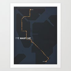 The Warriors Art Print
