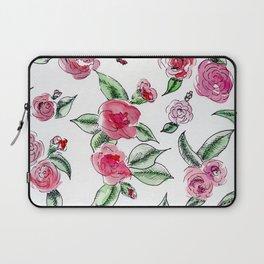 Rose Camelia Laptop Sleeve