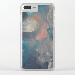Gashes in the sky Clear iPhone Case