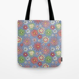 Midday Wildflowers Tote Bag