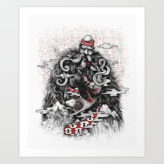 Call of Tradition Art Print