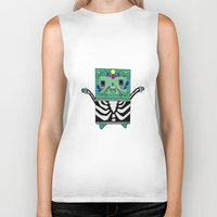 bmo Biker Tanks featuring BMO by Ilse Nonsense