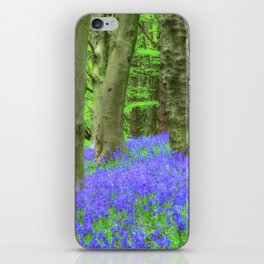 Bluebell Woods, The Wenallt #2 iPhone Skin