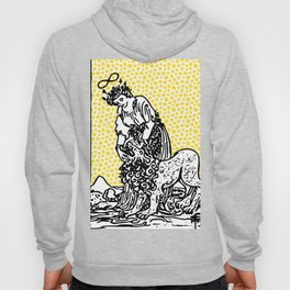 Modern Tarot Design - 8 Strength Hoody