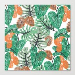 Jungle Print Canvas Print