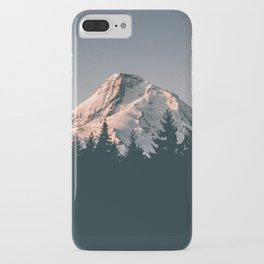 First Light on Mount Hood iPhone Case