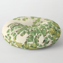 Maidenhair Ferns Floor Pillow