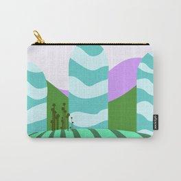 Stripes landscape  Carry-All Pouch