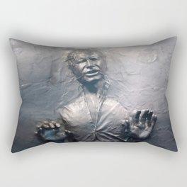 Han Solo Carbonite Rectangular Pillow