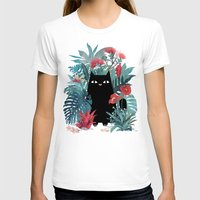 leaves T-shirts featuring Popoki by littleclyde