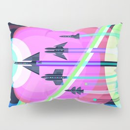The Grand Tour : Vintage Space Poster Cool Pillow Sham