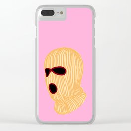 Ivory Creeper Clear iPhone Case