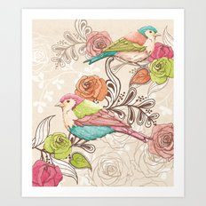 Country Garden Art Print