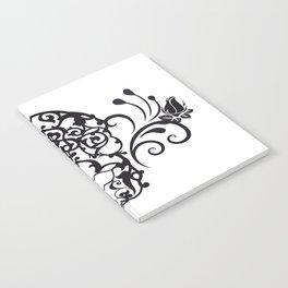 SKULL FLOWER 04 Notebook