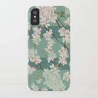 sakura iPhone & iPod Cases featuring Sakura by Maria Durgarian