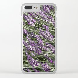 "LAVANDULA ""FRED BOUTIN"" Clear iPhone Case"