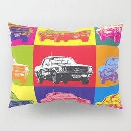 Mustang V8 1967 pop art inspired by A.W Pillow Sham