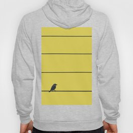 Bird and wires Hoody