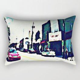 Street Scene No. 1 Rectangular Pillow
