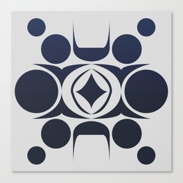 Future Abstract Alien Symbol Canvas Print