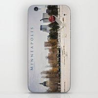 minneapolis iPhone & iPod Skins featuring Minneapolis by Kimberley Britt
