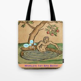 Worlds First Spa! Tote Bag