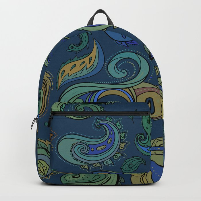 Indian Paisley Pattern 03 Backpack