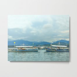 Bankga Boats Metal Print