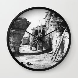 Dancers' Rock, Walpi, Arizona Wall Clock