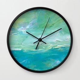 Ocean Breeze Wall Clock