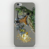guardians of the galaxy iPhone & iPod Skins featuring Guardians by theMAINsketch