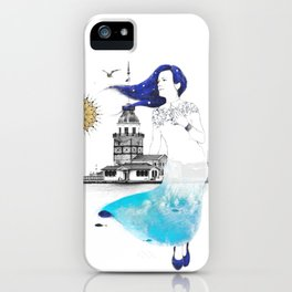 Median Tower iPhone Case