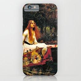 John William Waterhouse - The Lady Of Shalott - Digital Remastered Edition iPhone Case