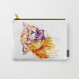 Angry Lioness Carry-All Pouch