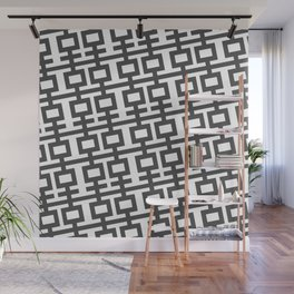 Black And White Double Happines Wall Mural