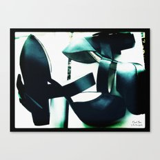 Shoes - Chanel II Canvas Print