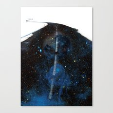 Galaxy Road Canvas Print