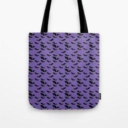 Batty purple Tote Bag