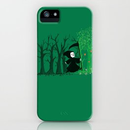 The hills WERE alive iPhone Case