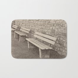 Saving a Seat for You Bath Mat